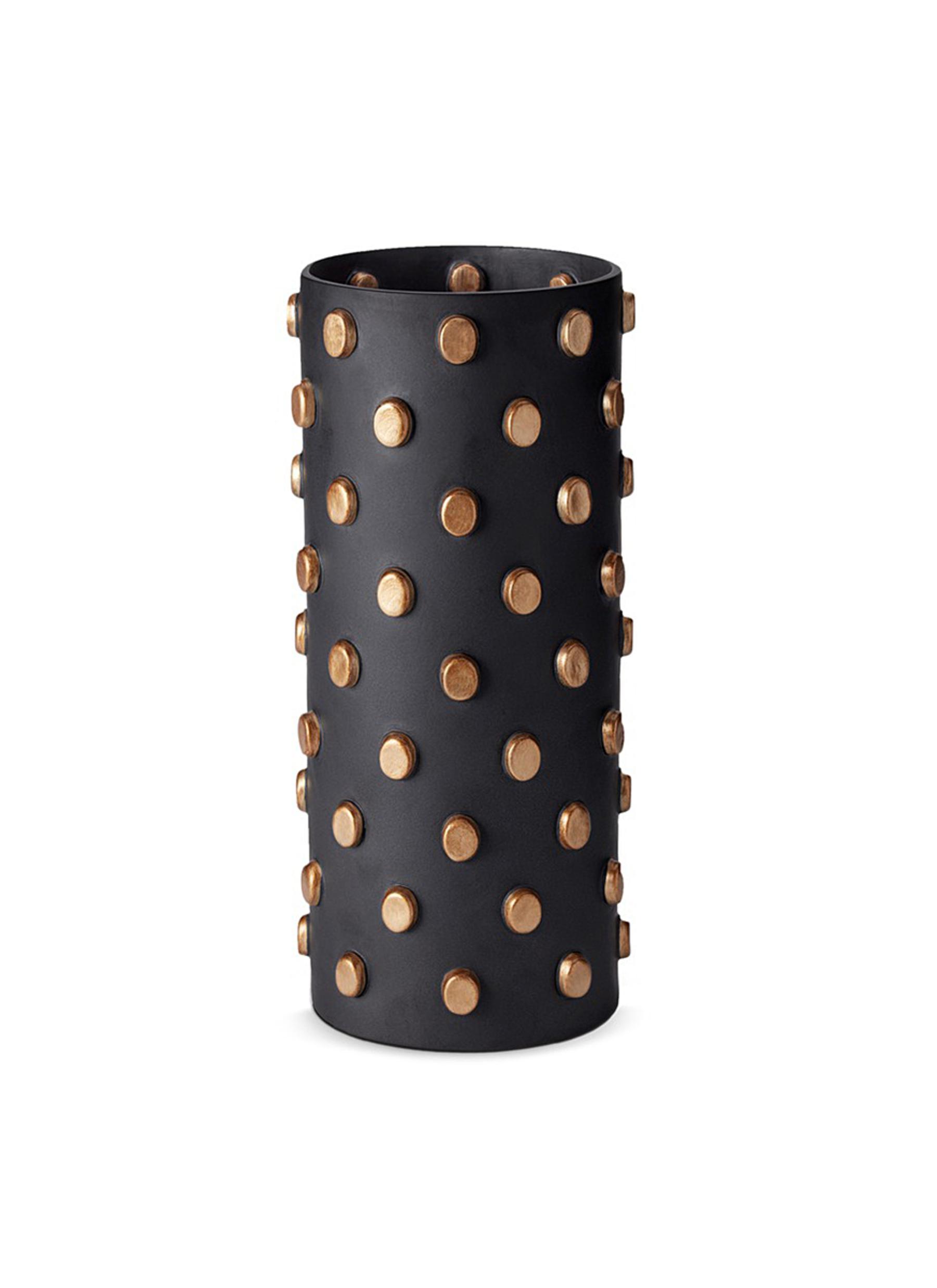 lobjet female teo large vase black