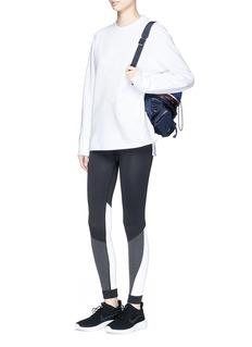 Fendi Sport 'Karlito' stud embroidered sweatshirt