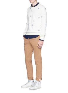 Scotch & SodaFlap pocket woven cotton shirt