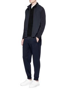 Fendi Sport 'Bag Bugs' patch polo shirt