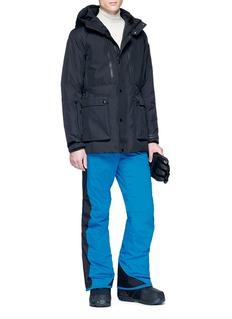Fendi Sport 'Bag Bugs' lambskin leather patch ski pants