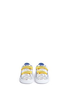 Puma Kidsx Minions® 'Basket V' leather toddler sneakers
