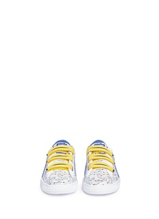 Puma Kids x Minions® 'Basket V' leather kids sneakers