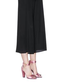 Stella Luna'Summer Evening' buckled lamé sandals