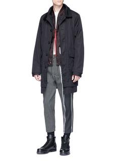 OAMC Panelled twill bomber jacket
