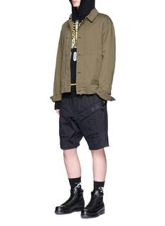 Marcelo Burlon 'Lican' print hoodie