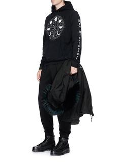 Marcelo Burlon 'Menel' print hoodie