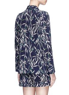 Equipment 'Lillian' bamboo print silk crepe pyjama set