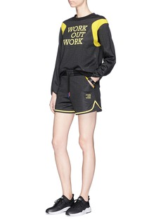 HELEN LEE x The Woolmark Company 'Work Out Work' print sweatshirt