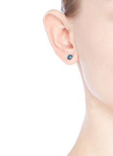 Astley Clarke 'Opal Uranus' 14k gold stud earrings