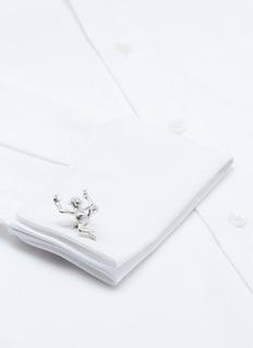 Deakin & Francis Monkey sterling silver cufflinks