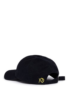 The Weeknd 'Party Monster' embroidered baseball cap