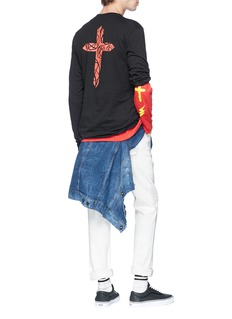 The Weeknd Cross print long sleeve T-shirt
