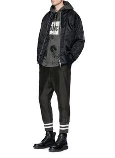 DIM MAK 'Rogers' cropped jogging pants