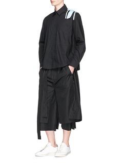 Craig Green Wrap panel wide leg cropped pants
