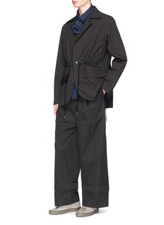 Craig Green Convertible lapel oversized worker blazer