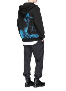 Juun.J 'Hide Your Lies' graphic print zip hoodie