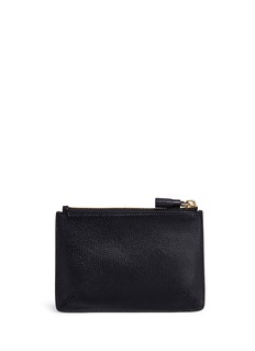 Anya Hindmarch 'Eyes' embossed small leather loose pocket