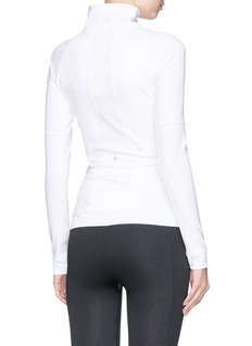 Adidas By Stella Mccartney 'The Midlayer' ribbed panel zip track top