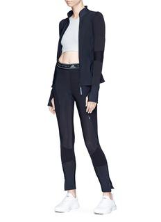 Adidas By Stella Mccartney 'Run' knit panel track jacket