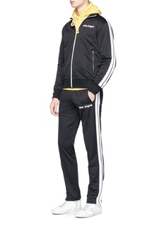 Palm Angels Stripe trim track jacket
