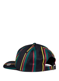 Palm Angels 'Rastafari' regimental stripe baseball cap