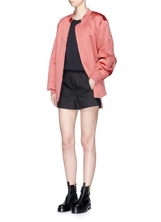 T By Alexander Wang Padded oversized bomber jacket