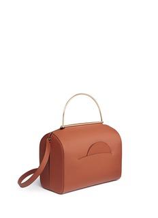 Roksanda 'No. 1' ring handle leather shoulder bag
