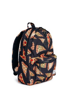 The Herschel Supply Co. Brand 'Heritage' pizza print canvas 16L kids backpack