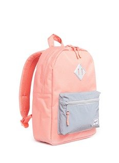 The Herschel Supply Co. Brand 'Heritage' reflective pocket canvas 16L kids backpack