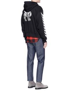 Stella McCartney Logo appliqué organic cotton hoodie