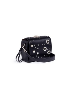 Alexander McQueen 'Box Bag 19' in eyelet studded calfskin leather