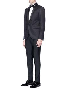 Dsquared2 'Tokyo' metallic soft tuxedo blazer