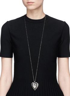 Alexander McQueen 'Heart Locket' pendant necklace