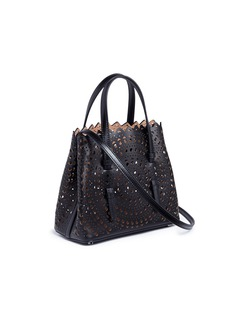 Alaïa 'Vienne' mini lasercut leather tote