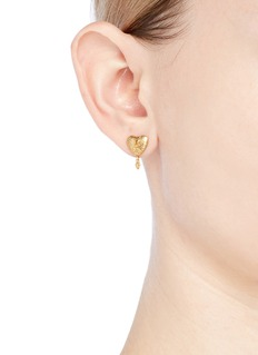 Chloé Heart stud earring 3-piece set