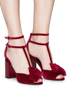 Pierre Hardy 'Lunar' velvet sandals