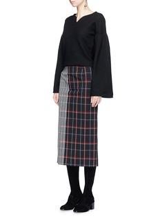 CO 心形领美丽诺羊毛针织衫