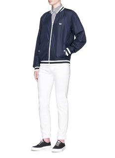 Maison Kitsuné Fox logo appliqué windbreaker jacket