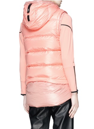Back View - Click To Enlarge - Templa - Two-in-one jacket and down puffer vest