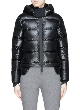 Main View - Click To Enlarge - Templa - Hooded down puffer jacket