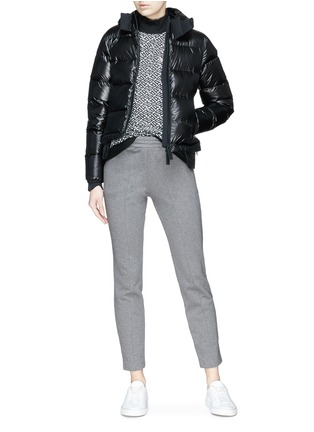 Figure View - Click To Enlarge - Templa - Hooded down puffer jacket