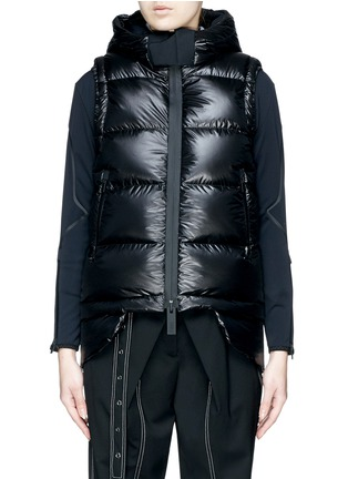Main View - Click To Enlarge - Templa - Two-in-one jacket and down puffer vest