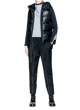Figure View - Click To Enlarge - Templa - Two-in-one jacket and down puffer vest