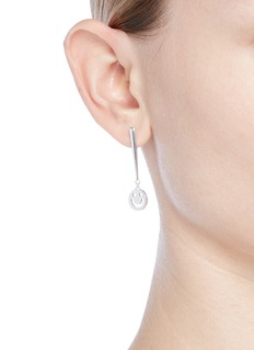 Ruifier 'Super Happy' sterling silver earrings
