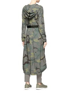 The Upside 'Camo Anja' belted parka