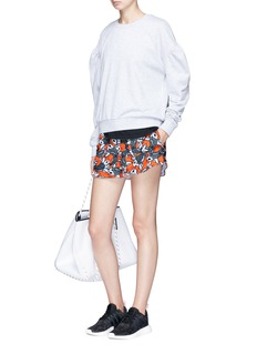 The Upside 'Sea of Koi' print running shorts