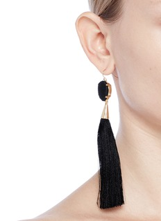 Mignonne Gavigan New York 'Joan' silk tassel drop earrings