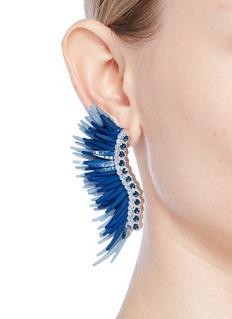 Mignonne Gavigan New York 'Lux Madeline' glass crystal beaded paillette earrings