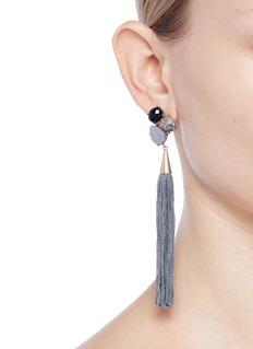 Mignonne Gavigan New York 'Morgan' cabochon tassel earrings